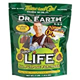 Dr. Earth 736P Life Organic All Purpose Fertilizer In Poly Bag, 4-Pound Photo, best price $16.99 new 2020