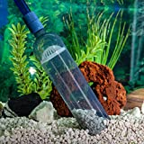 Gravel Vacuum for Aquarium - Fish Tank Gravel Cleaner- Aquarium Vacuum Cleaner - Aquarium Siphon - 8 Foot Long Aquarium Gravel Cleaner With mini Net Photo, best price $21.99 new 2020