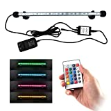 COVOART LED Aquarium Light, 15inch Fish Tank Light RGB Color Underwater Light Submersible Crystal Glass Lights Photo, best price $15.88 new 2019