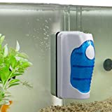 Magnet Aquarium Cleaner, JRing Algae Scraper for Glass Aquariums, Strong Magnet facilitates Easy Algae Removal, Aquatic Algae Cleaning Fish Tank Glass Cleaner Scrubber Floating Clean Brush with Handle Photo, best price $6.99 new 2019