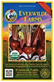 Everwilde Farms - 500 organic Early Wonder Beet Seeds - Gold Vault Packet Photo, best price $2.98 new 2019