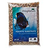Imagitarium River Rock Shallow Creek Aquarium Gravel, 20 LBS Photo, best price $19.99 new 2019