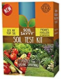 Soil Savvy - Soil Test Kit | Understand What Your Lawn or Garden Soil Needs, Not Sure What Fertilizer to Apply | Analysis Provides Complete Nutrient Analysis & Fertilizer Recommendation On Report Photo, best price $32.95 new 2019