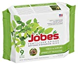 Jobe's 9 Count Trees and Shrubs Fertilizer Spikes by Jobe's Photo, best price $14.17 new 2019
